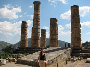 Delphi Temple Ruins, Greece